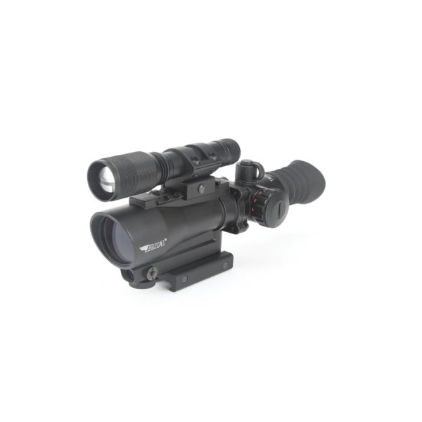 30mm Red Dot with laser and flashlight