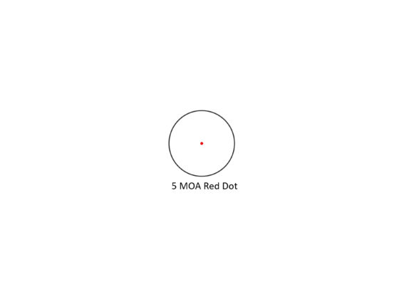 5 MOA Red Dot